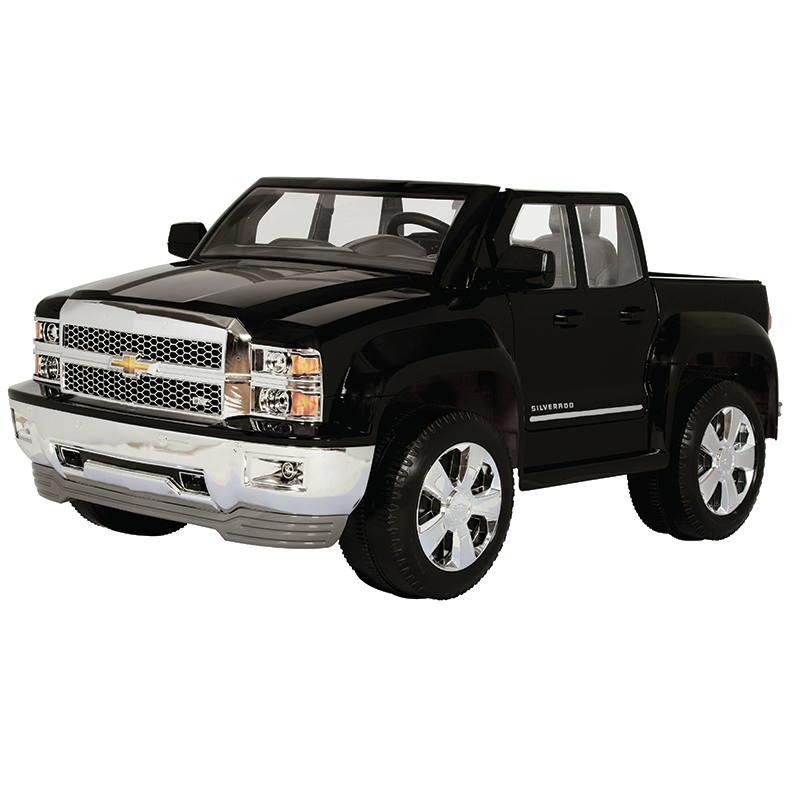 12V Chevy Silverado - Black