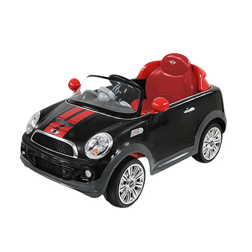 6V MINI Cooper Coupe-Red/Black