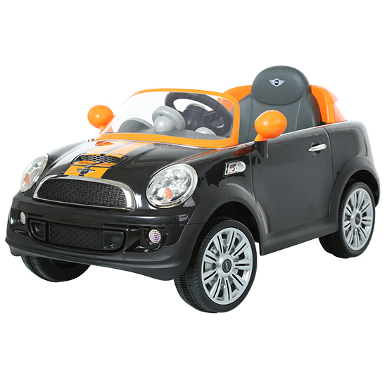 6V MINI Cooper Coupe- Orange/Black