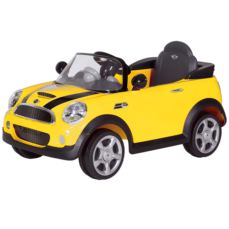 6V MINI Cooper S - Yellow
