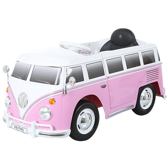 6V VW Type 2 Bus - Pink