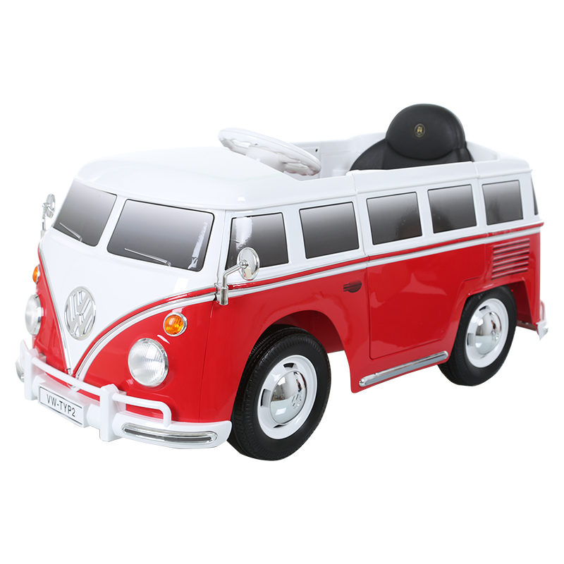 6V VW Type 2 Bus - Red