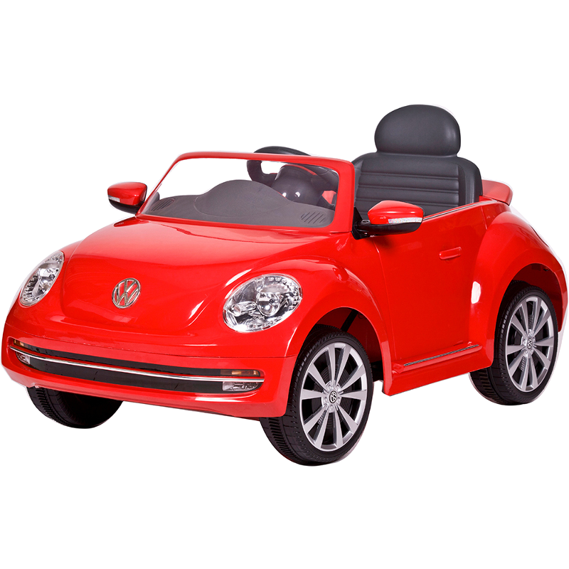 6V VW Beetle - Red
