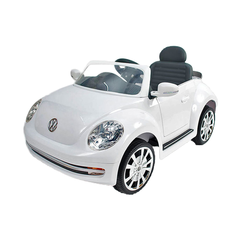 6V VW Beetle - White